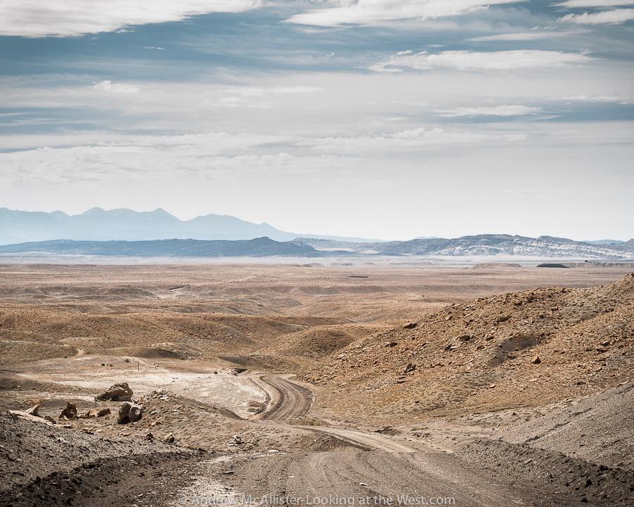 Driving the desert of Southern Utah