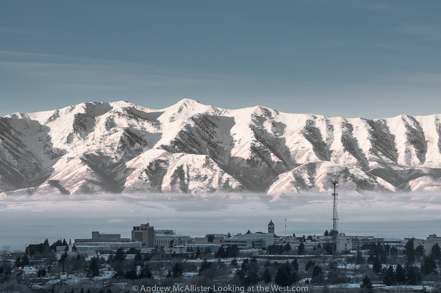 Winter 2013 Inversion Cache Valley Utah