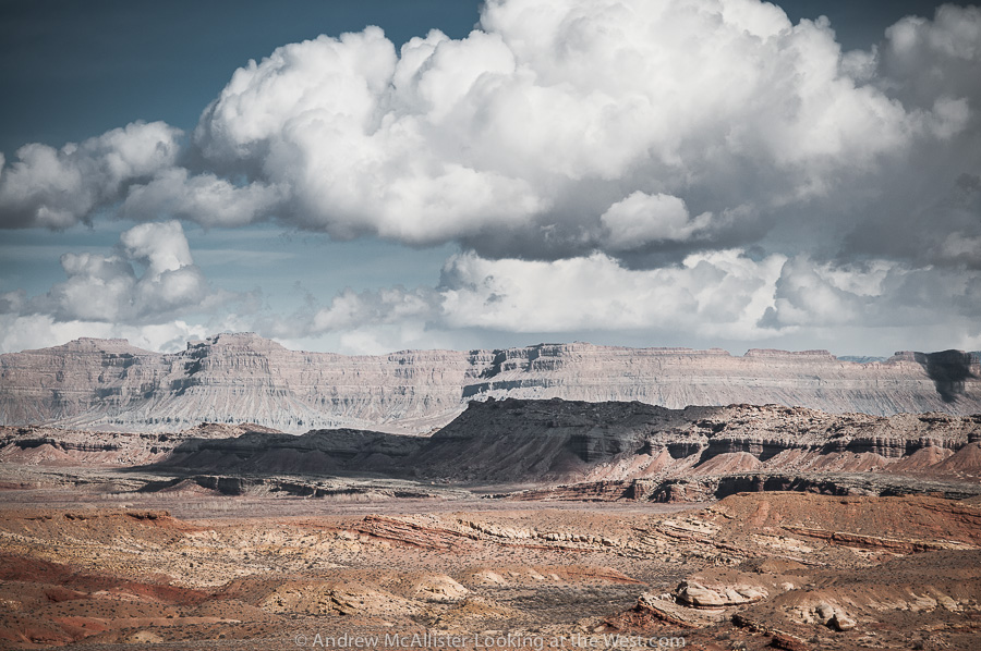 Book Cliffs from the San Rafael Reef in Southern Utah