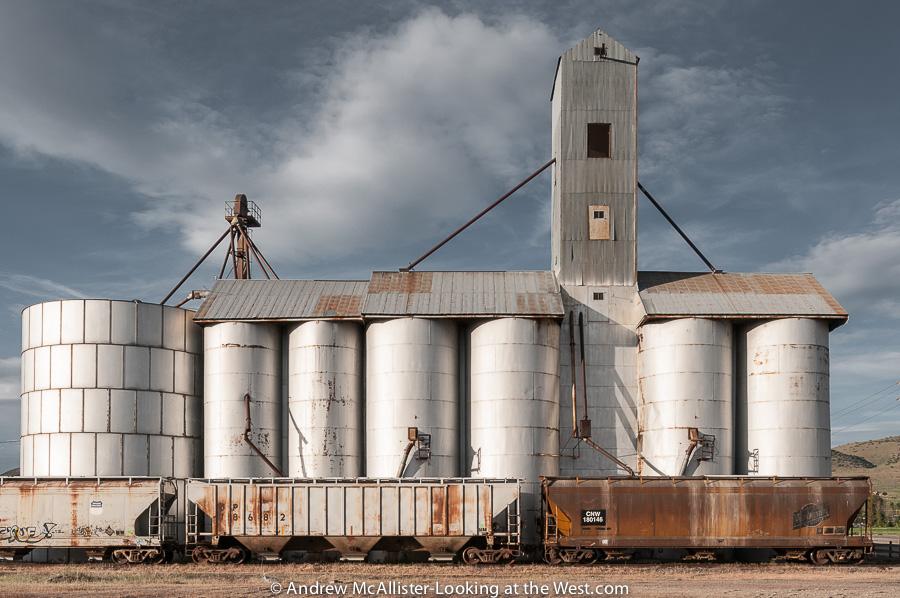 Grain Elevator, Malad, Idaho