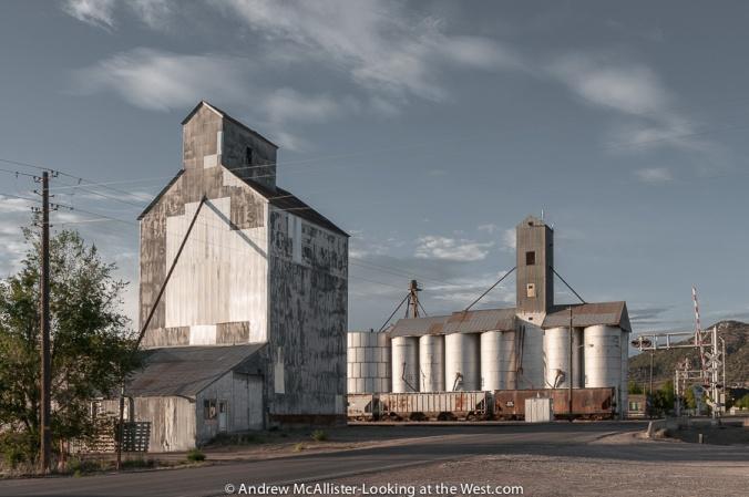 Malad, Idaho grain elevators