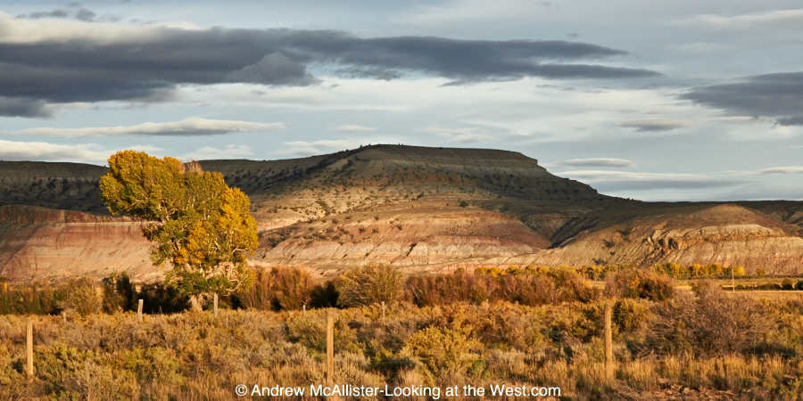 The Flat Top, north of La Barge, Wyoming.